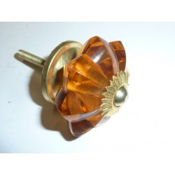 buton pumpkin 45 mm ambre