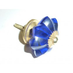 buton pumpkin 45 mm dark-blue
