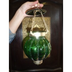 small lamp KHARBUJA dark  green