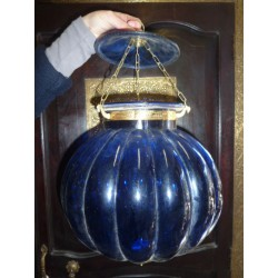 big lamp KHARBUJA blue dark