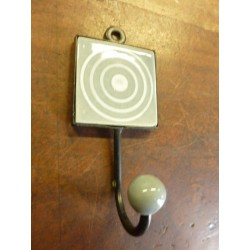 Mini hook square grise with cercle