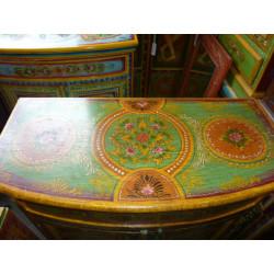 Quilt cover cotton bandes oranges/safran