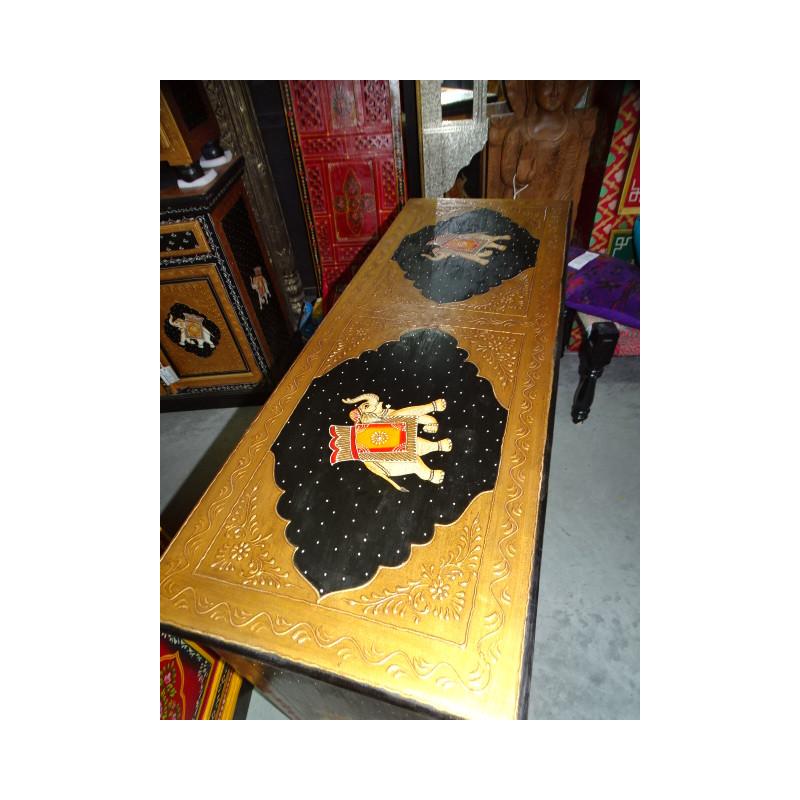 Ceramic knobs pitch vermilion
