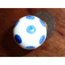 butons ball white pitch blue dark-blue