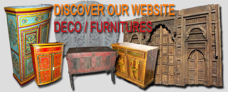 Delivery of Indian Furniture and Indian decoration